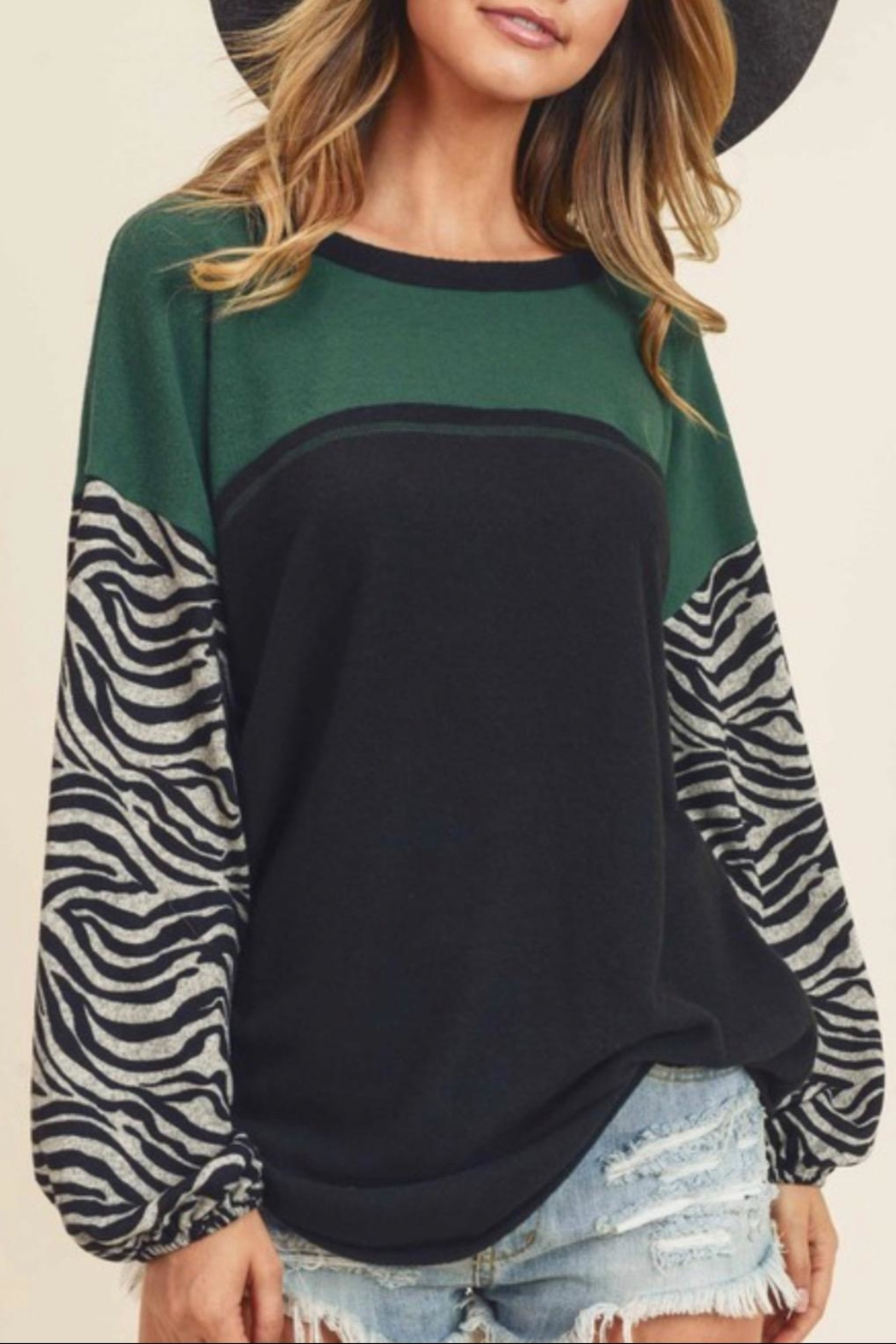 First Love Brushed Cashmere Top - Main Image