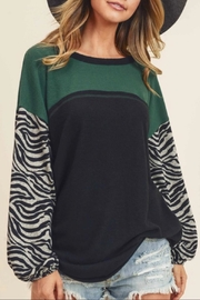 First Love Brushed Cashmere Top - Product Mini Image