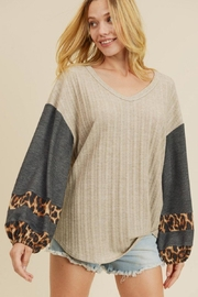 First Love Cable Knit Top - Product Mini Image