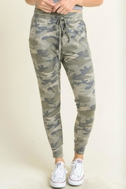 First Love Camo Joggers - Front cropped