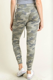 First Love Camo Joggers - Front full body
