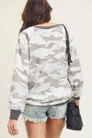 First Love Camo Vintage Top - Other