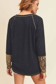 First Love Cashmere Brushed Top - Side cropped