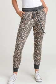 First Love Cheetah Print Joggers - Product Mini Image