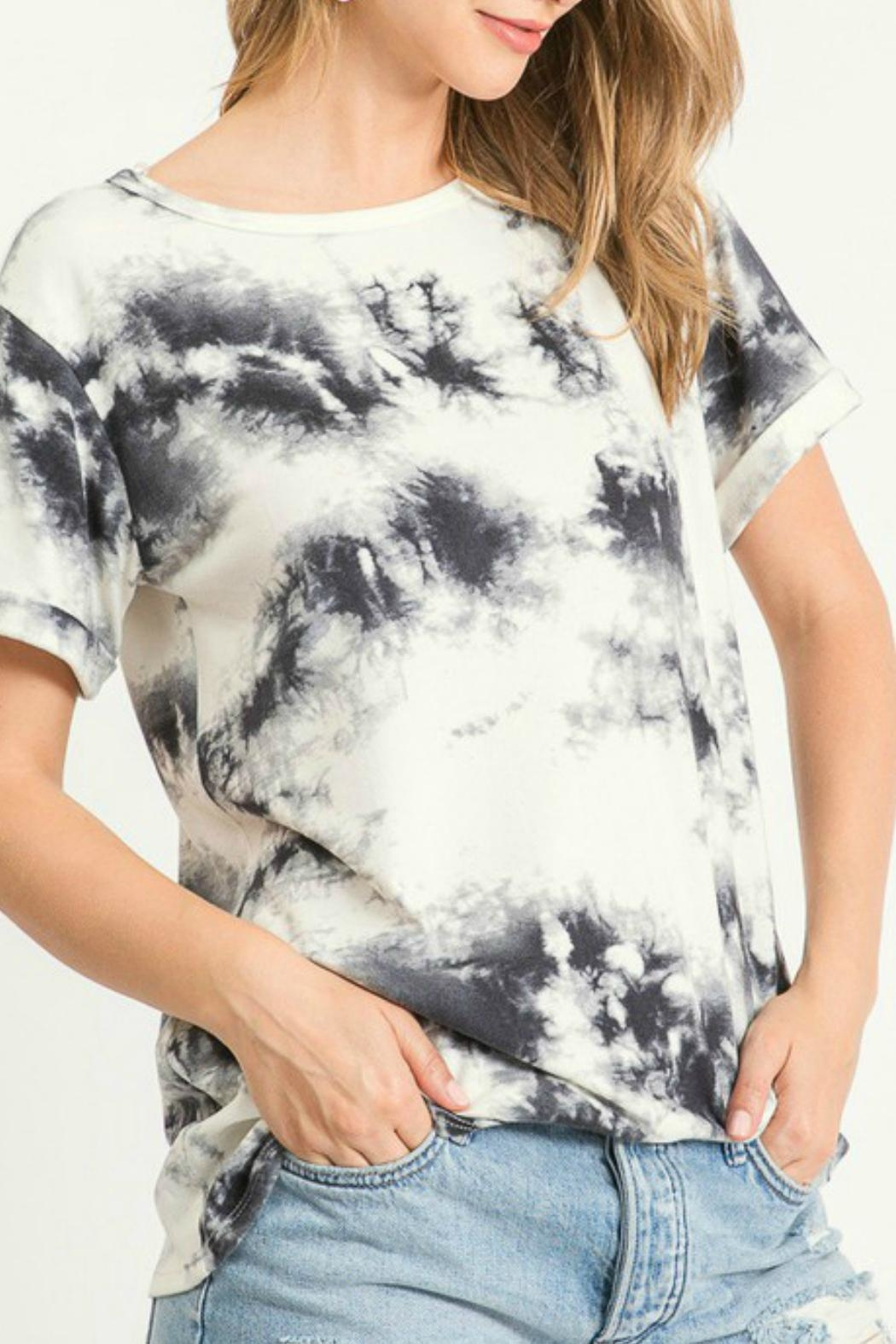 First Love Cheyenne Tie Dye Top - Front Full Image