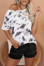 First Love Cheyenne Tie Dye Top - Front cropped