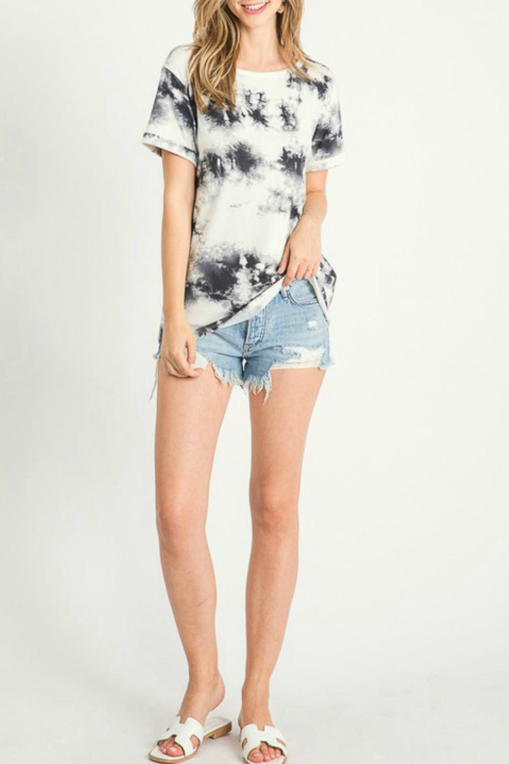 First Love Cheyenne Tie Dye Top - Side Cropped Image