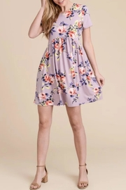 First Love Floral Babydoll Dress - Product Mini Image