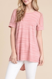 First Love Hi-Lo Top - Back cropped
