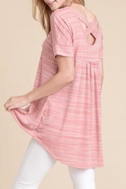First Love Hi-Lo Top - Front cropped