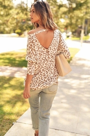 First Love Leopard Key-Hole Top - Other