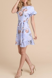 First Love Mock-Wrap Dress - Front full body