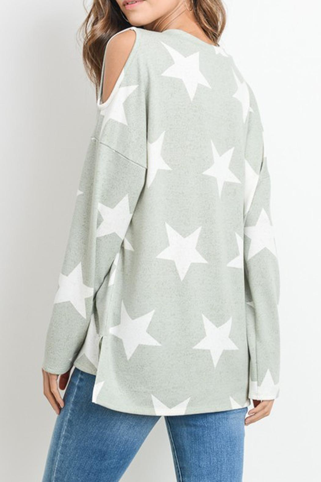First Love Star Print Top - Side Cropped Image