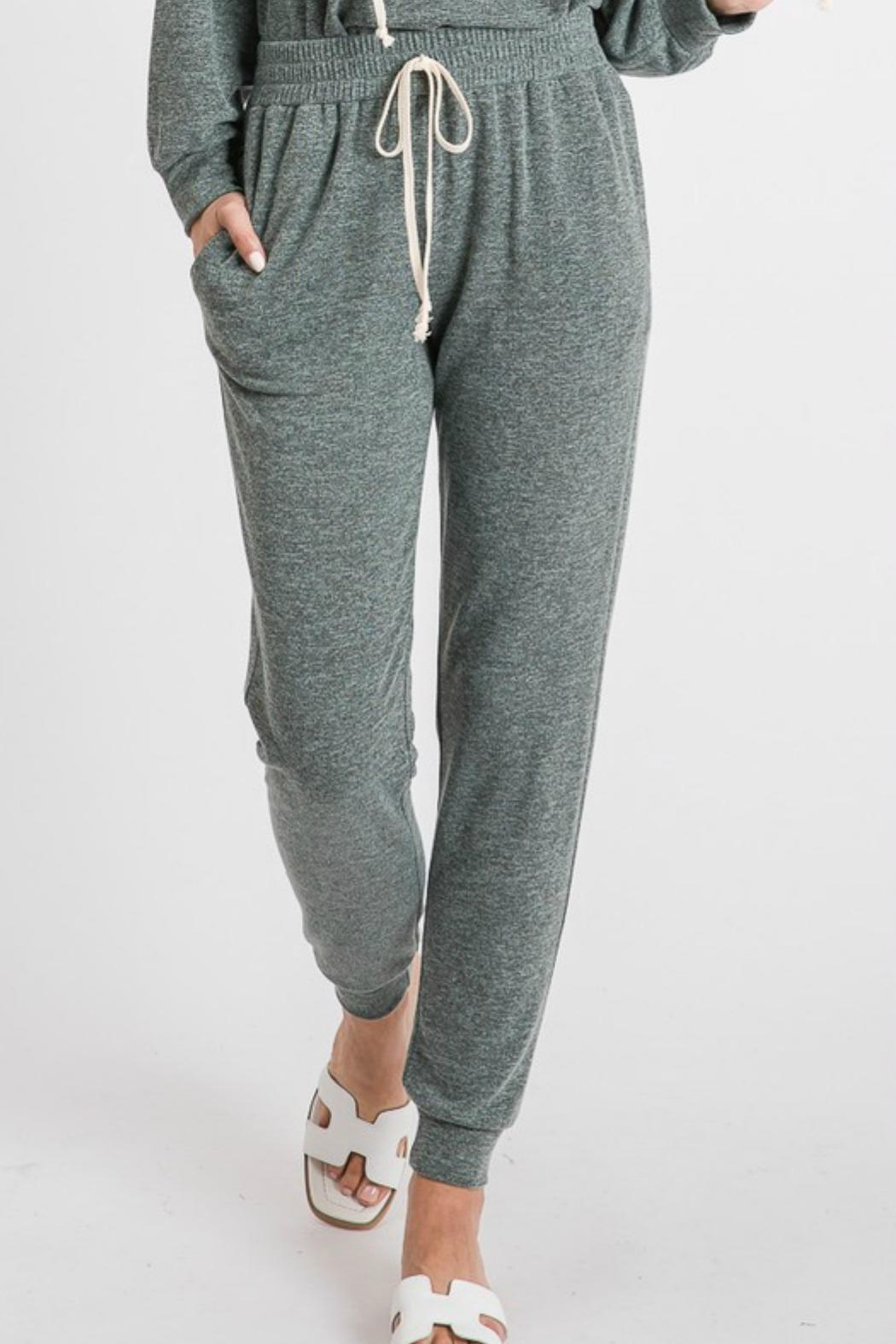 First Love Stella Basic Joggers - Front Cropped Image