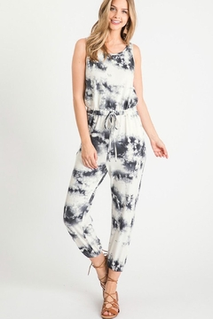First Love Tie Dye Jumpsuit - Product List Image