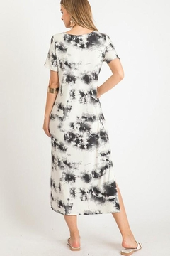 First Love Tie-Dye Maxi With-Slit - Alternate List Image