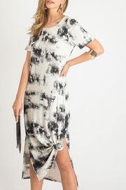 First Love Tie-Dye Maxi With-Slit - Product Mini Image