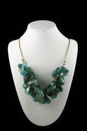 Tis tiK Fish Scales Necklace - Side cropped