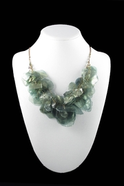 Tis tiK Fish Scales Necklace - Front full body