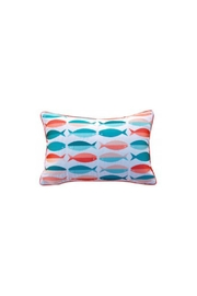 Rightside Design Fish Sunbrella Pillow - Front cropped