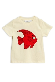 Mini Rodini Fish T-Shirt - Front cropped