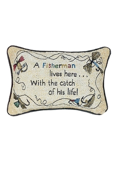MWW Fisherman's Advice Pillow - Product List Image