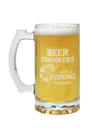 Carson Home Accents Fishing Problem Beer Mug - Product Mini Image