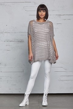 Planet Fishnet Sweater - Product List Image
