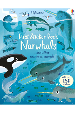 Usborne Fist Sticker Book Narwhals - Product List Image