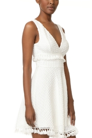 ALI AND JAY Fit and Flare Embroidered Tassel Dress - Product Mini Image