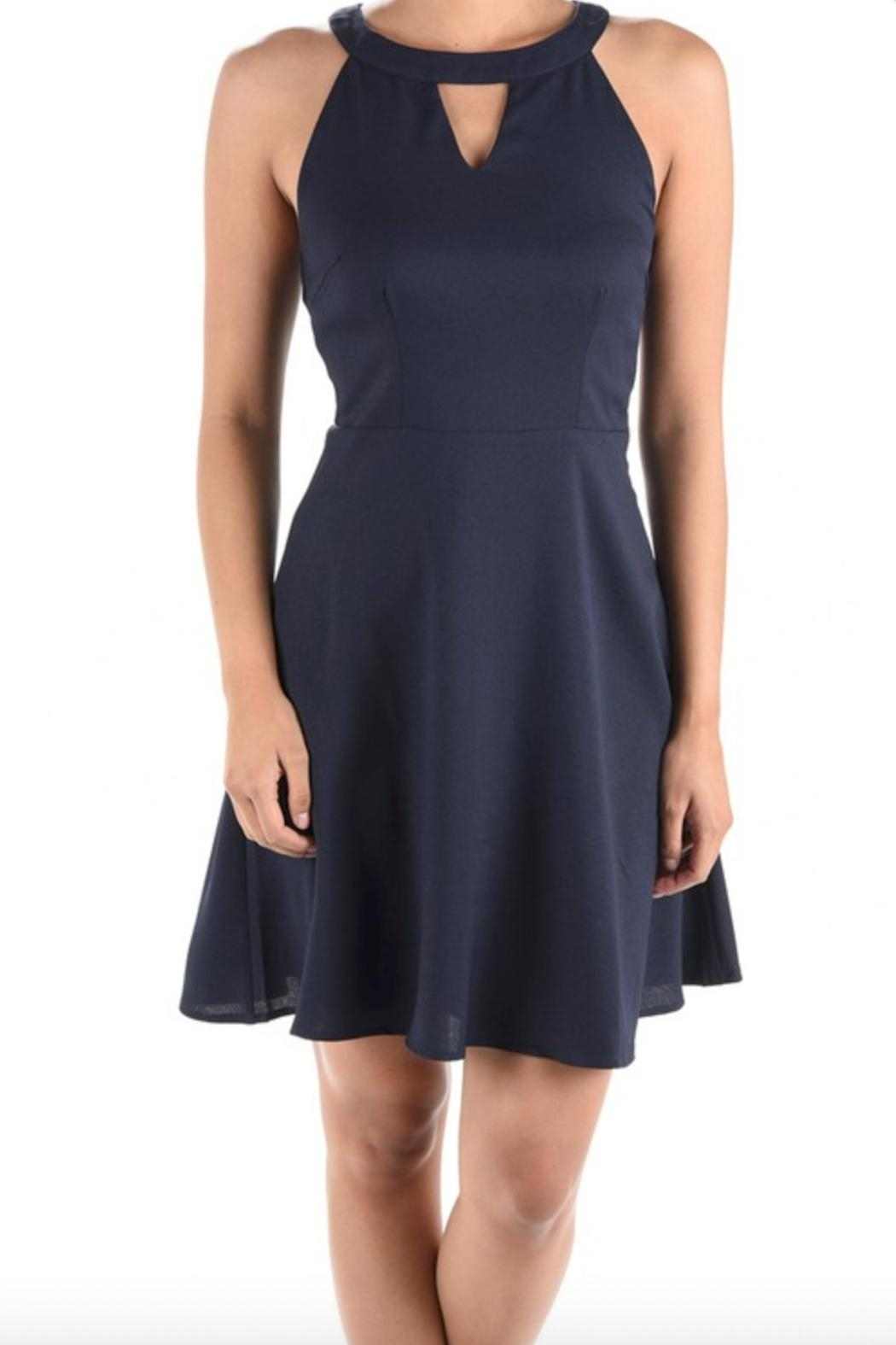 Aryeh Fit & Flare Dress - Main Image