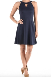 Aryeh Fit & Flare Dress - Back cropped
