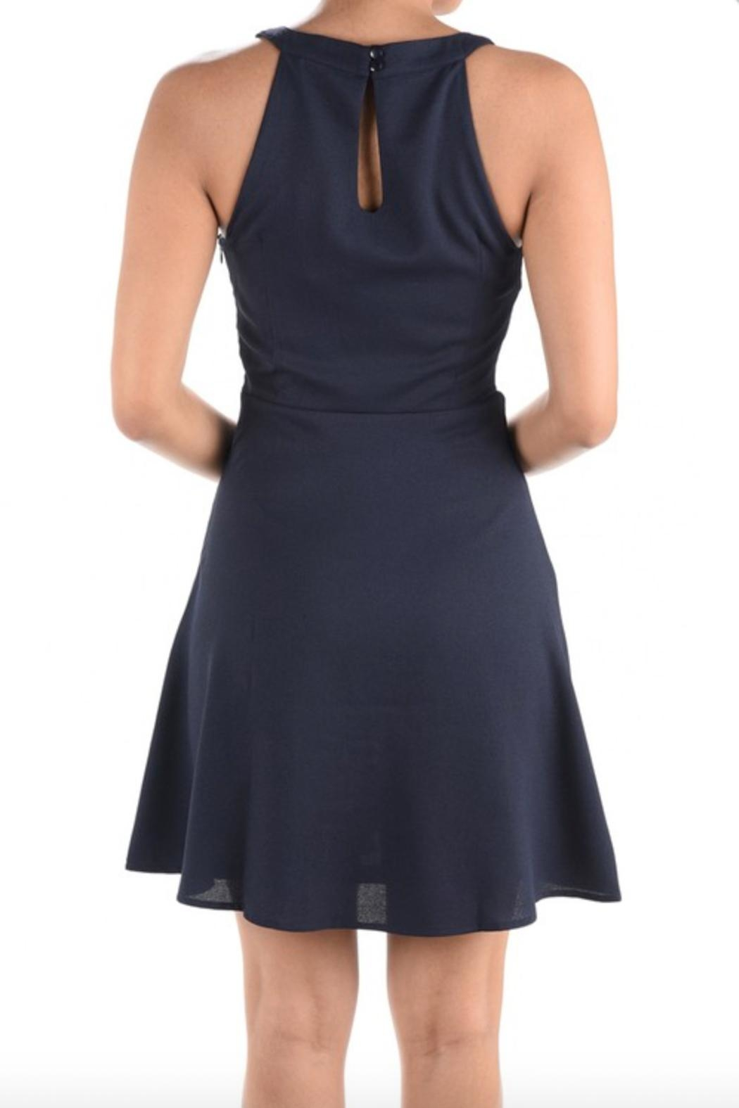 Aryeh Fit & Flare Dress - Front Full Image