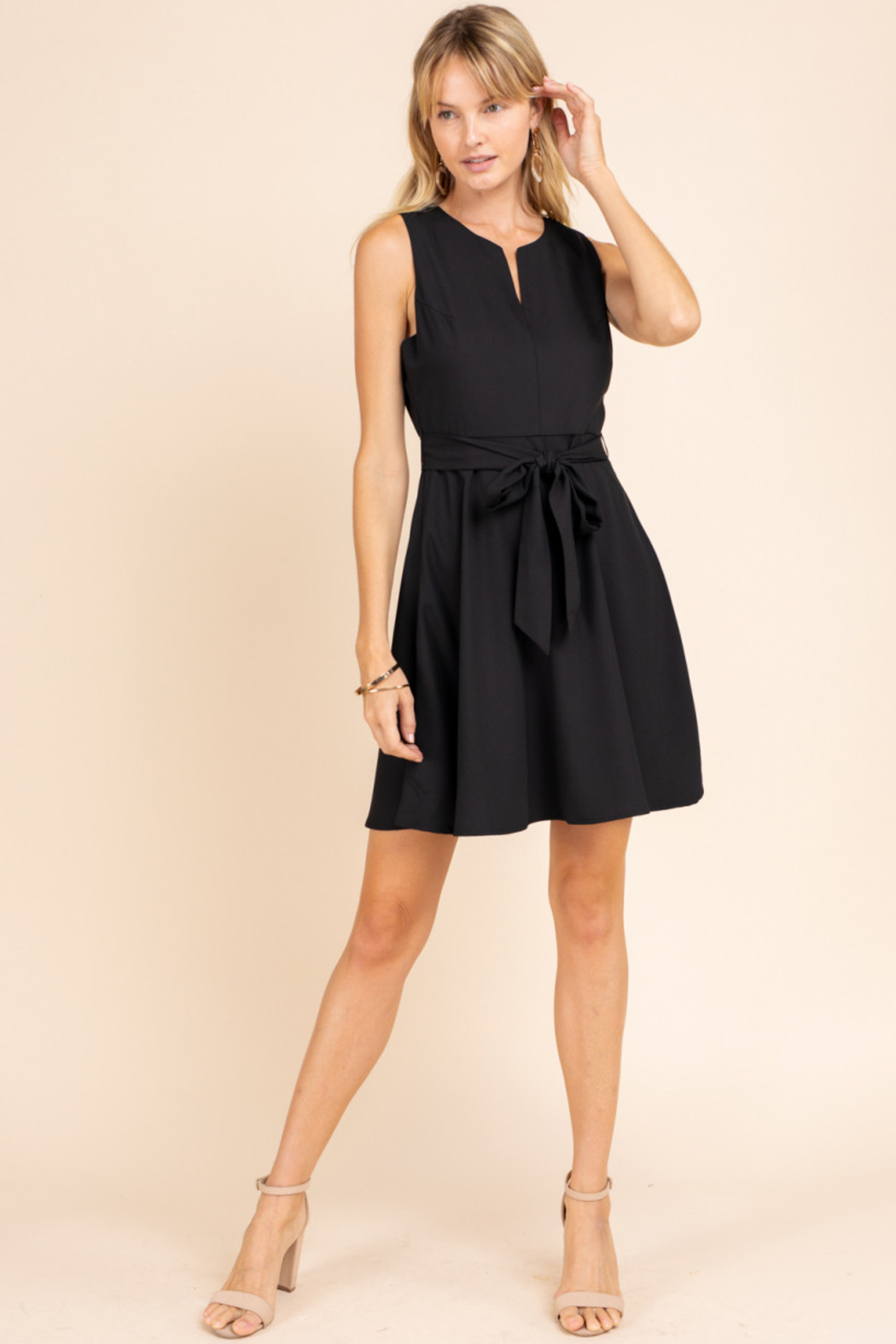 Gilli  Fit n Flare Dress - Front Cropped Image
