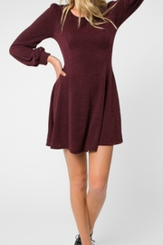 Everly Fit n Flare knit dress - Product Mini Image