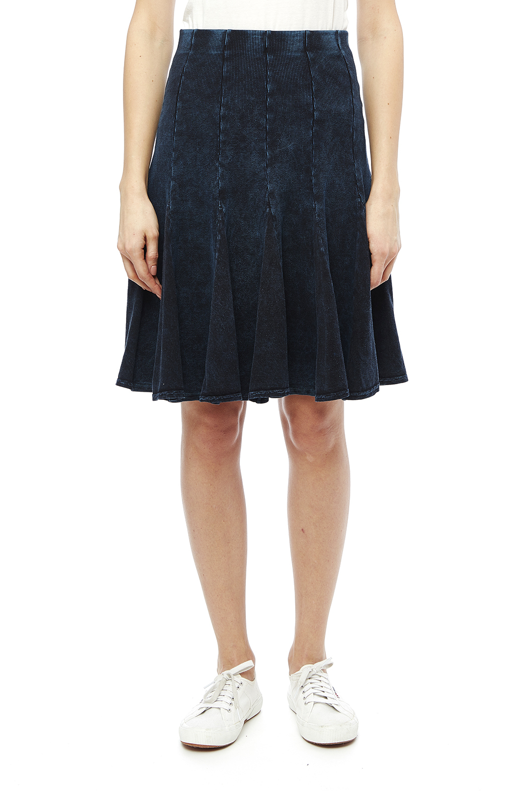Hard Tail Fit-N-Flare Skirt - Front Cropped Image