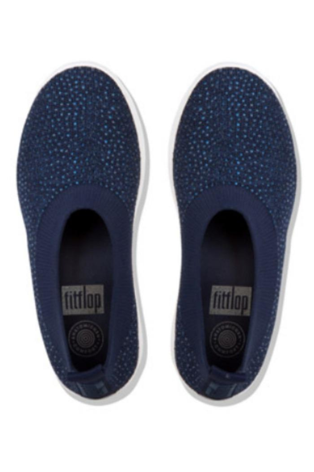 Fitflop Crystal Ballet - Front Full Image
