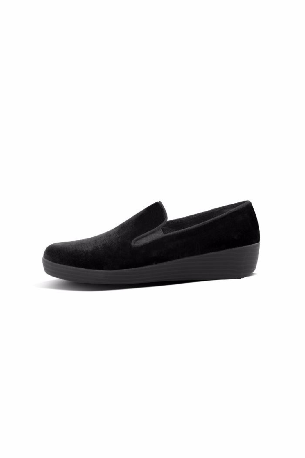 Fitflop Velvet Loafer - Front Full Image