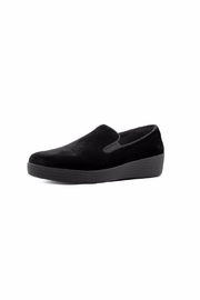 Fitflop Velvet Loafer - Front cropped