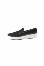 Fitflop Velvet Loafer - Front full body