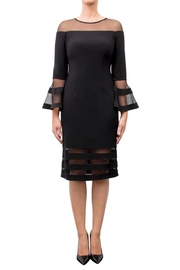 Joseph Ribkoff Fitted Bell-Sleeve Dress - Product Mini Image