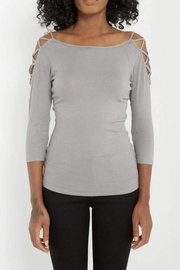 Soprano Fitted Cold Shoulder - Product Mini Image