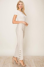 HYFVE Fitted Flare leg Linen Pants - Product Mini Image