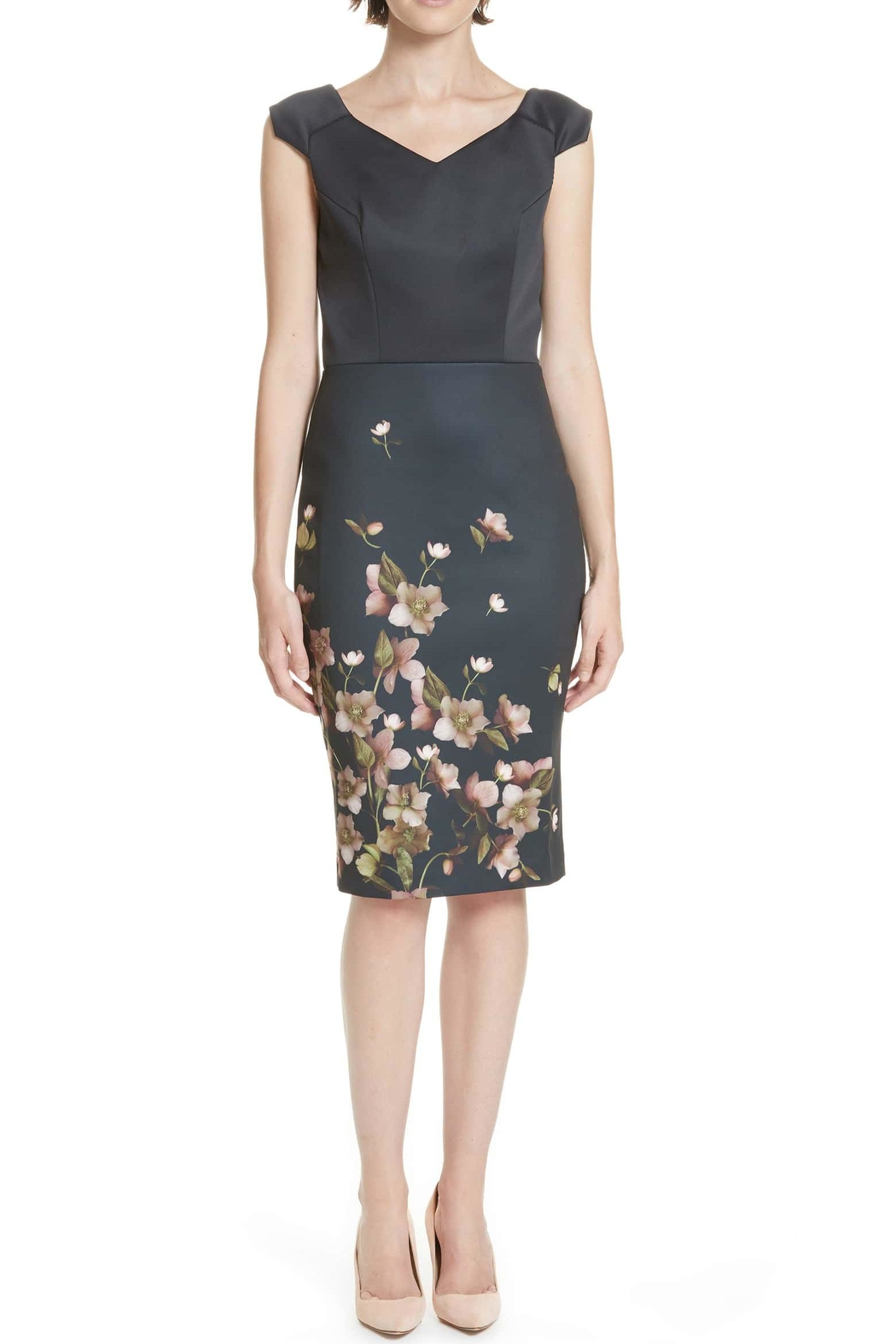 7a3070a5df0 Ted Baker Fitted Floral Dress from Wallingford by The Dressing Room ...