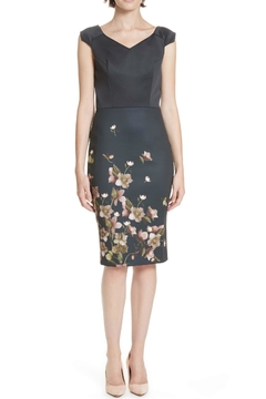 Ted Baker Fitted Floral Dress - Product List Image