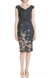 Ted Baker Fitted Floral Dress - Product Mini Image