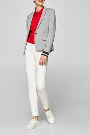 Esprit Fitted Jersey Blazer - Product Mini Image