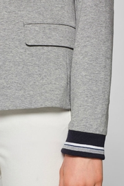 Esprit Fitted Jersey Blazer - Side cropped