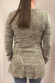 Keren Hart Fitted Knit Sweater - Front full body