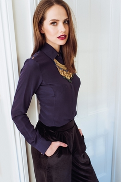 Sophie Cameron Davies Fitted Silk Shirt - Product List Image